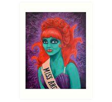Miss Argentina Art Print