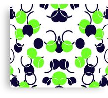 Green Ball Pattern Canvas Print