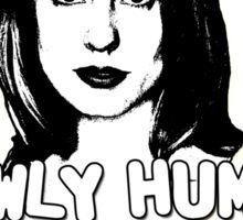ANYA JENKINS: newly human, strangely literal Sticker