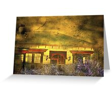 """The Little Old Cottage ..."" Greeting Card"