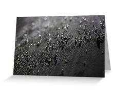 Drops Greeting Card