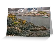 Into Mevagissey Greeting Card