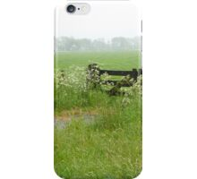 Farm gate iPhone Case/Skin