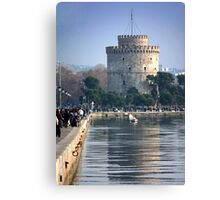 White Tower Canvas Print