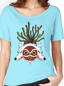 Wolf Princess (Color) Women's Relaxed Fit T-Shirt