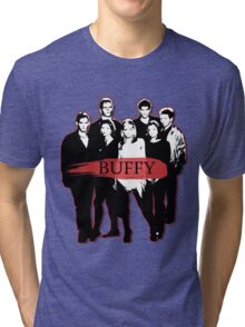 BTVS CAST (S3): The Scoobies! Tri-blend T-Shirt
