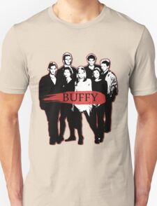 BTVS CAST (S3): The Scoobies! Unisex T-Shirt