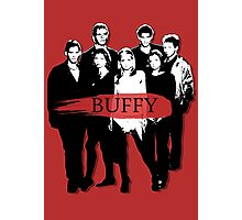 BTVS CAST (S3): The Scoobies! Photographic Print