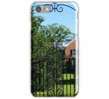 Wrought Iron Entrance   ^ iPhone Case/Skin