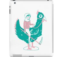 Lady Death upon her Noble Steed iPad Case/Skin