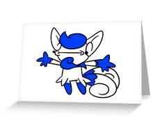 Meowstic Greeting Card