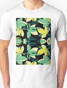Leaf and Flowers Unisex T-Shirt