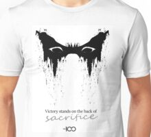 Victory stands on the back of sacrifice ver.2 Unisex T-Shirt