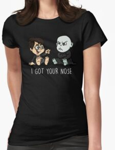 """""""I got your nose""""  Womens Fitted T-Shirt"""