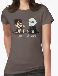 """I got your nose""  Womens Fitted T-Shirt"