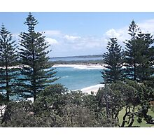 Ocean View - Bullcock Beach Photographic Print