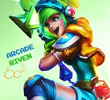 Arcade Riven HQ Poster by Dhaxina