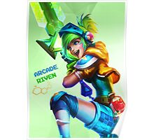 Arcade Riven HQ Poster Poster