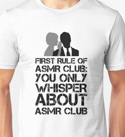 ASMR Club Unisex T-Shirt