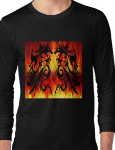 DRAGONS FIGHTING Long Sleeve T-Shirt