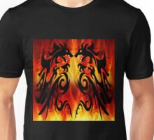 DRAGONS FIGHTING Unisex T-Shirt