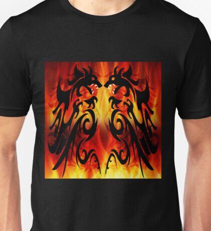 DRAGONS FIGHTING Unisex T-Shirt