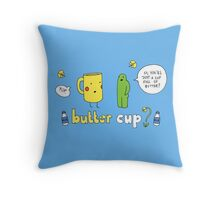Butter Cup? Throw Pillow