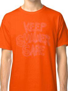 Rick & Morty-KEEP SUMMER SAFE Classic T-Shirt
