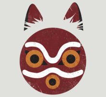 Mononoke Mask by Gingerbredmanny