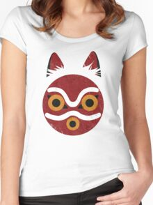 Mononoke Mask Women's Fitted Scoop T-Shirt