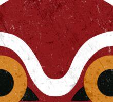 Mononoke Mask Sticker