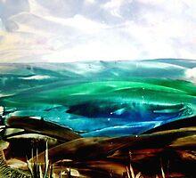 Ironed landscape by patjila
