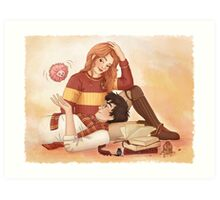 Harry, Ginny and Arnold Art Print