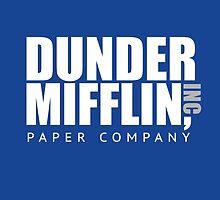Dunder Mifflin Paper Notebook by chrissy42