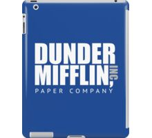 Dunder Mifflin Paper Notebook iPad Case/Skin