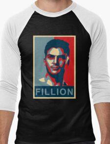 FILLION Men's Baseball ¾ T-Shirt