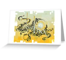 Shangri La, a Utopia on Earth. Greeting Card