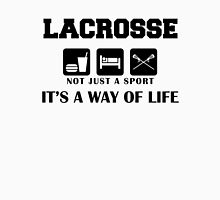 """Lacrosse """"Not Just A Sport - It's A Way Of Life"""" Womens Fitted T-Shirt"""