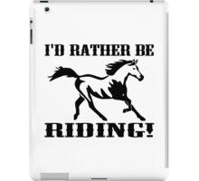 EQUESTRIAN HORSE RIDING iPad Case/Skin