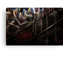 Urban Hieroglyphics Canvas Print