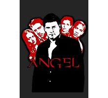 Angel Investigations: Black & Red Photographic Print