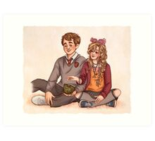 Neville and Luna Art Print