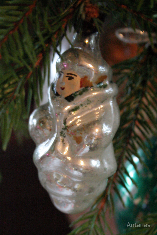 Christmas toys 50 years ago (Santa`s elf) by Antanas