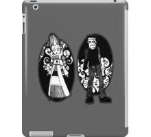 Frankenstein and Bride iPad Case/Skin