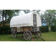 Old Wagon. Photographic Print