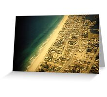 surfers paradise 1953 (?) Greeting Card