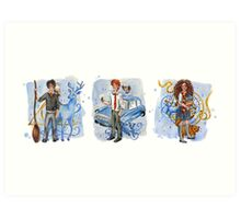 The Golden Trio Art Print
