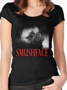 SMUSHFACE Women's Fitted Scoop T-Shirt