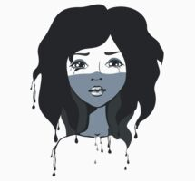 Crying her eyes out by Anastasiia Kucherenko