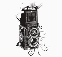 Retro Rolleiflex - Evolution of Photography - Vintage by Denis Marsili - DDTK